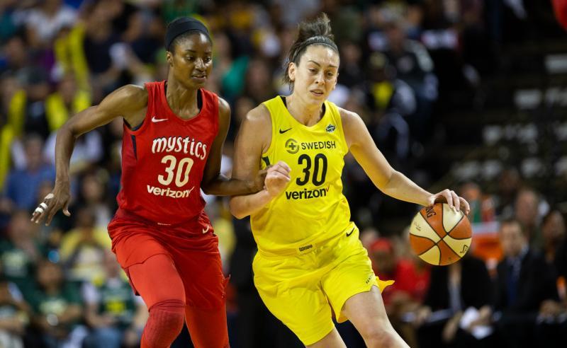 Washington Mystics X Seattle Storm na final da WNBA
