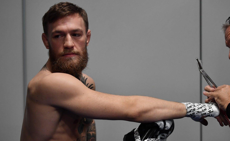 Conor McGregor publica mensagem na internet
