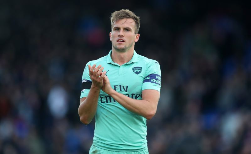 Rob Holding do Arsenal