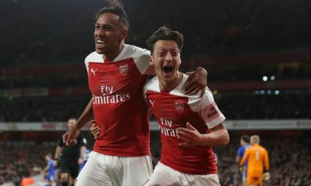 Pierre-Emerick Aubameyang do Arsenal