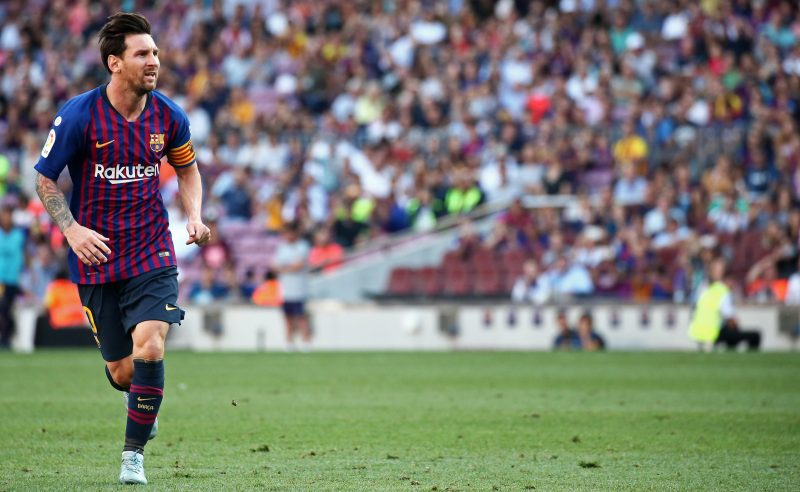 Messi do Barcelona