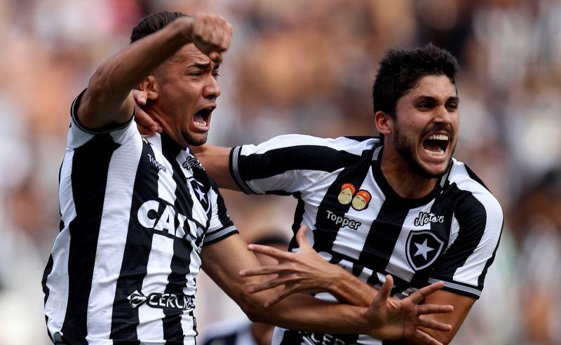 Jean e Rabello do Botafogo