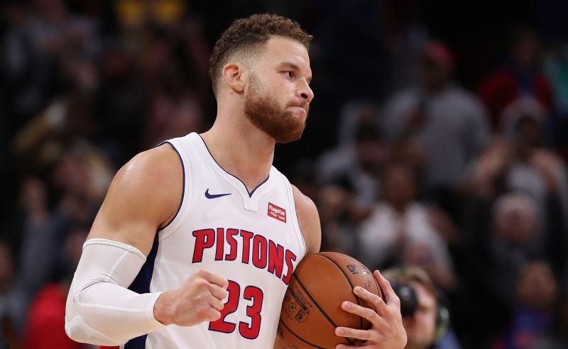 Blake Griffin dos Detroit Pistons