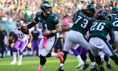 Carson Wentz dos Eagles