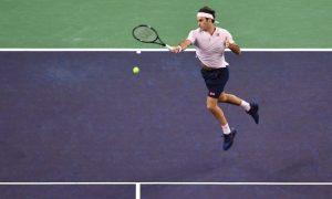 O tenista Roger Federer