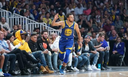 Stephen Curry do Golden State Warriors