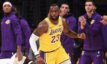 LeBron James dos Lakers