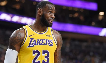 LeBron James dos Lakers