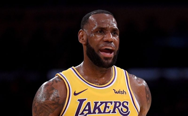 LeBron James dos Los Angeles Lakers