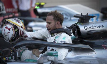 Lewis Hamilton da Mercedes