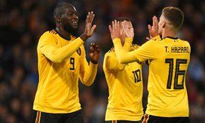 Lukaku e Hazard da Bélgica