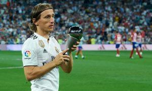 O jogador croata Luka Modric