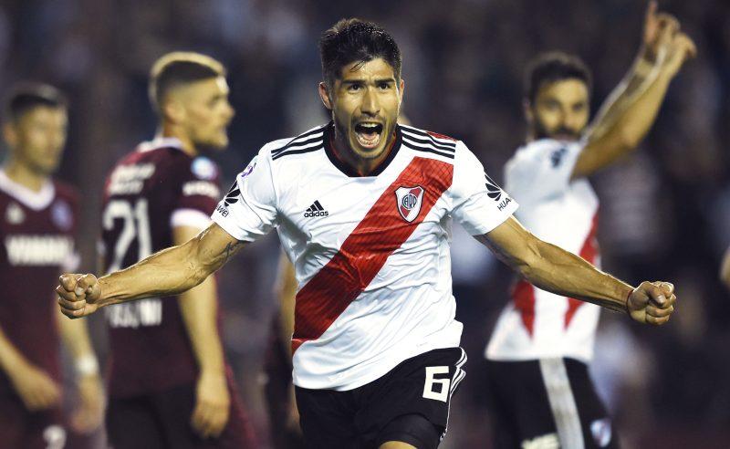 Luciano Lollo do River Plate