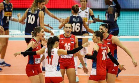 Seleção Sérvia de Vôlei Feminino