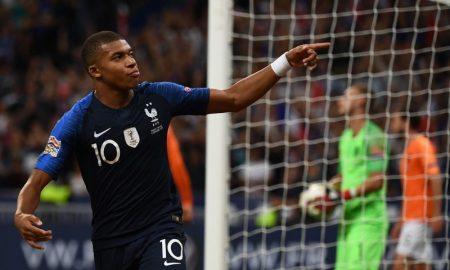Mbappé da Seleção Francesa