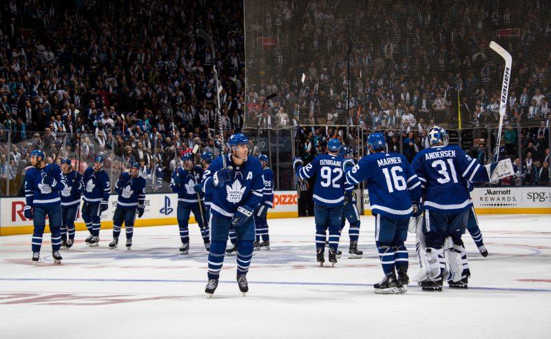 Jogadores dos Toronto Maple Leafs