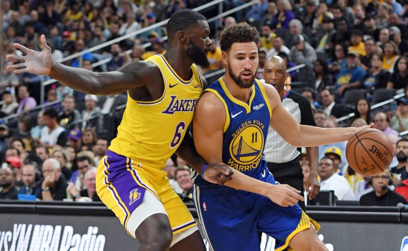 Golden State Warriors x Los Angeles Lakers