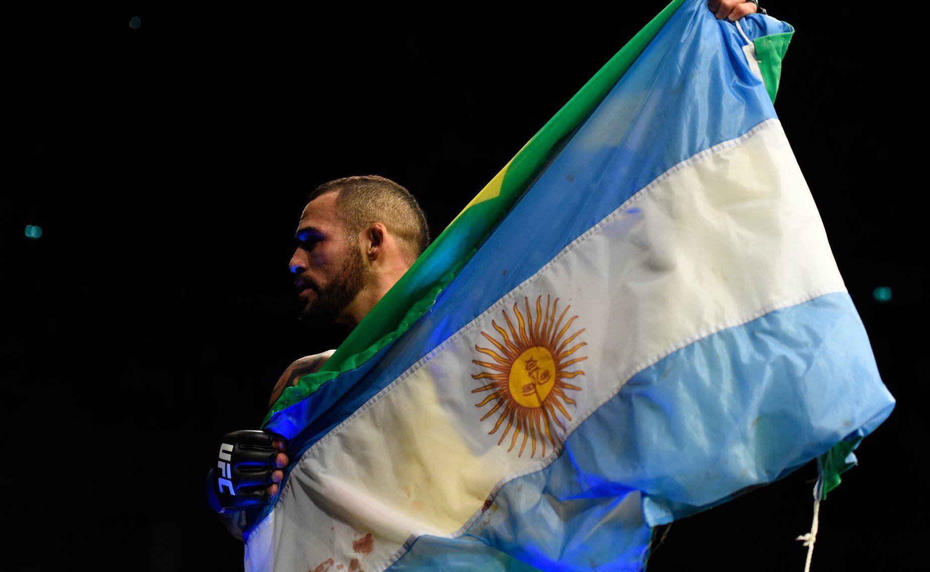 Santiago Ponzinibbio - UFC Argentina