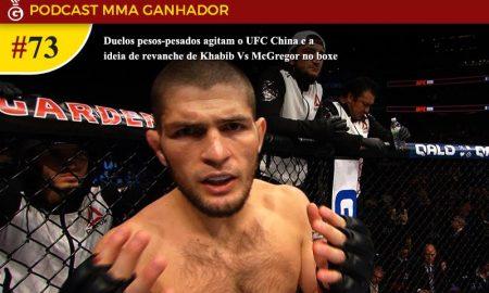 Podcast MMA Ganhador 73 - Khabib Nurmagomedov