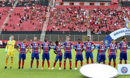 Jogadores do Bahia