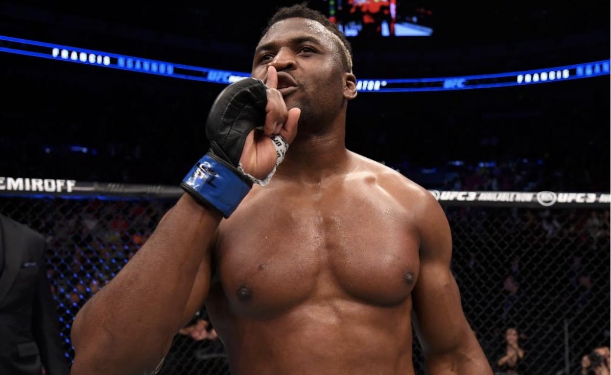 Francis Ngannou - Campeão dos pesados do UFC