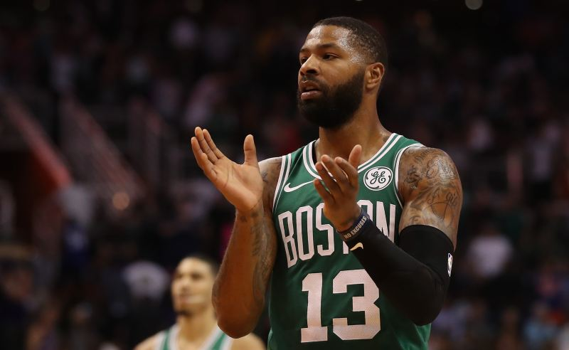 Marcus Morri dos Boston Celtics