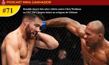 UFC 230: Chris Weidman Vs Ronaldo Jacaré