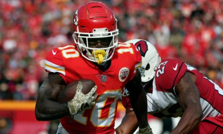 Tyreek Hill dos Kansas City Chiefs