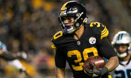 James Conner dos Pittsburgh Steelers