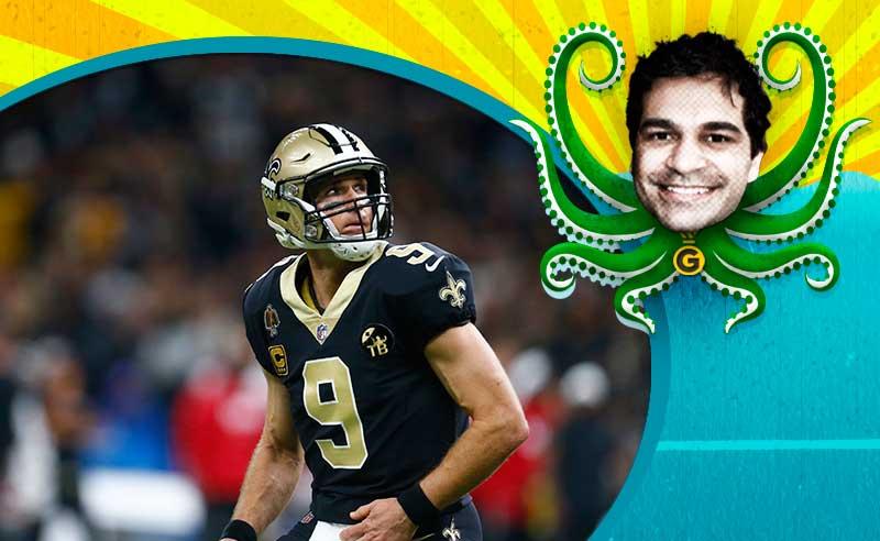Drew Brees dos New Orleans Saints