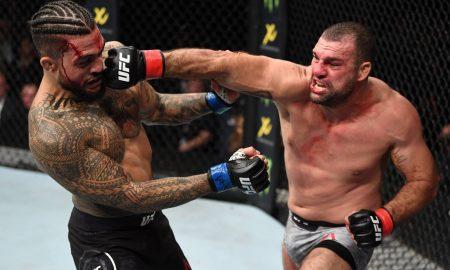 Mauricio Shogun nocauteia Tyson Pedro no UFC Austrália
