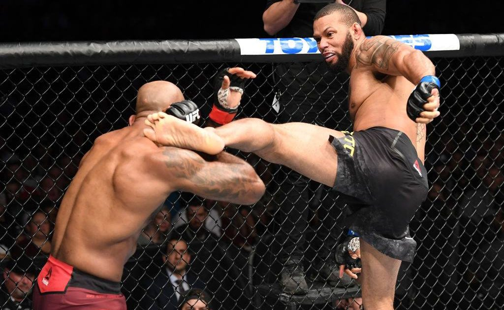 Thiago Marreta nocauteou Jimi Manuwa no UFC 231