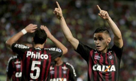 Raphael Veiga do Atlético-PR