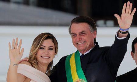 Bolsonaro em sua posse