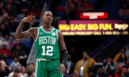 Terry Rozier dos Boston Celtics