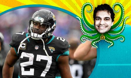 Leonard Fournette dos Jacksonville Jaguars