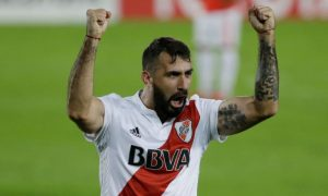 Lucas Pratto do River Plate