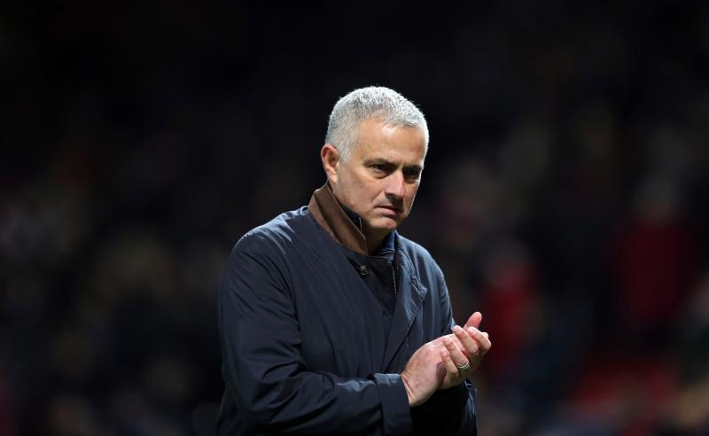 José Mourinho, ex-técnico do Manchester United