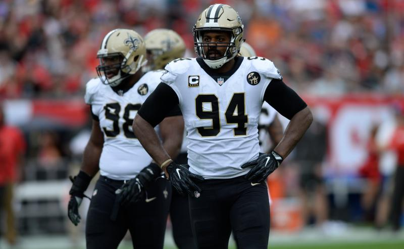 Cameron Jordan dos New Orleans Saints