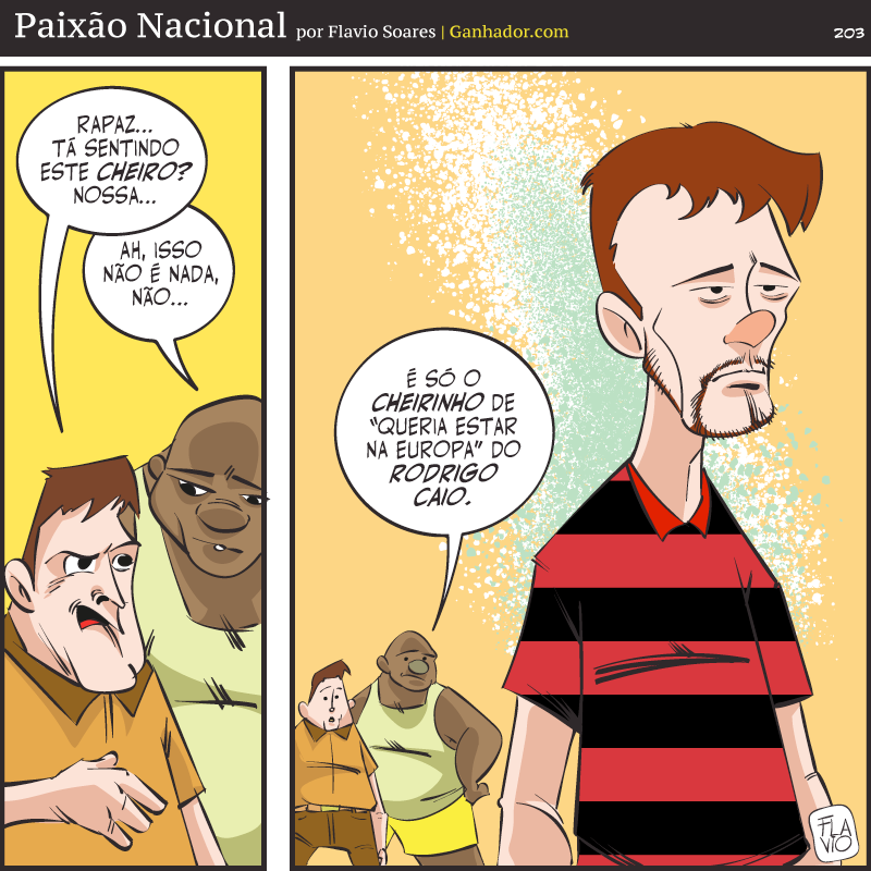 É do Flamengo