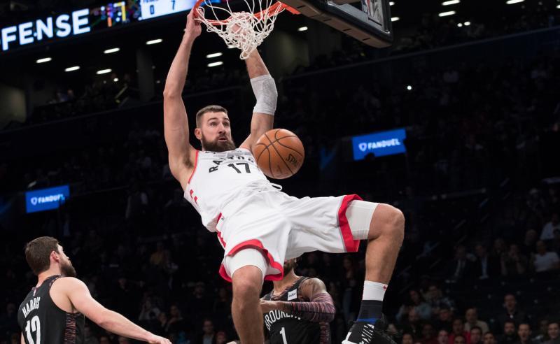 Jonas Valanciunas dos Toronto Raptors