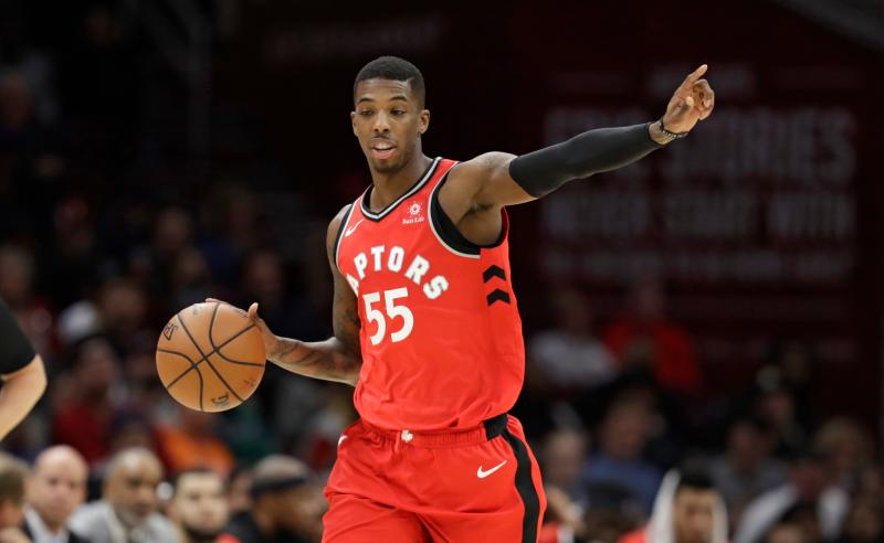 Delon Wright dos Toronto Raptors
