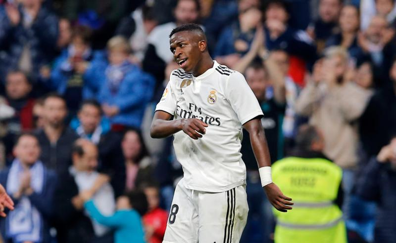 Vinicius Junior do Real Madrid