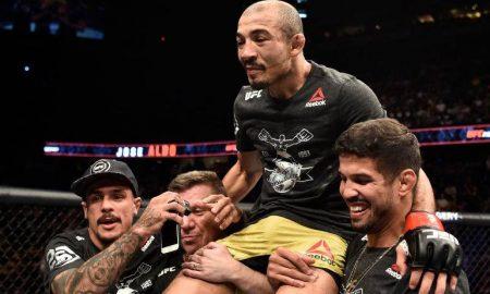 José Aldo venceu Jeremy Stephens por nocaute em sua última apresentação no UFC