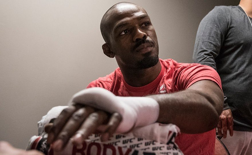 Jon Jones nos bastidores do UFC 232
