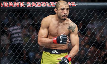 José Aldo é ex-campeão peso pena do UFC