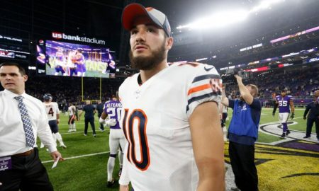Mitchell Trubisky dos Chicago Bears