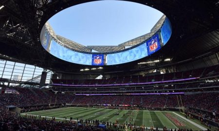 O Super Bowl 53 acontece no Estádio Mercedes-Benz