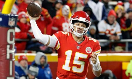 Patrick Mahomes dos Kansas City Chiefs