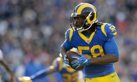 Cory Littleton dos Los Angeles Rams